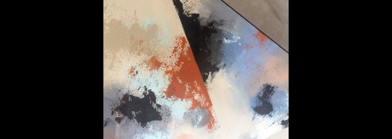Lav flot abstrakt kunst med Colour Fix og farvepigmenter