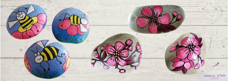 Steine lackieren und bemalen mit Colour Fix