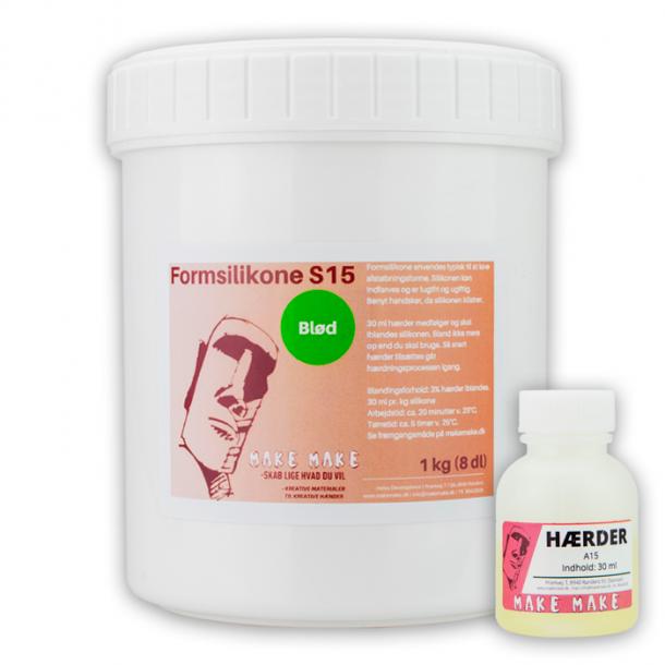 Formsilikon - Weich S15 1 kg