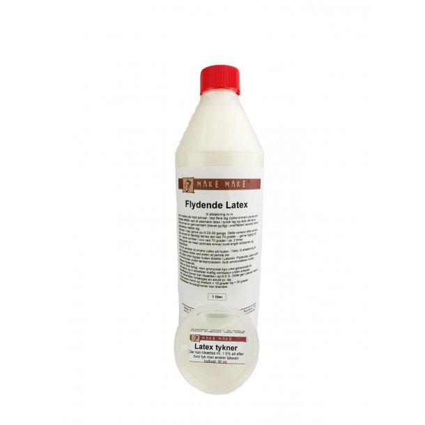 1 liter Flytande Latex + 5 % förtjockningsmedel